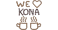 We Love Kona Coffee